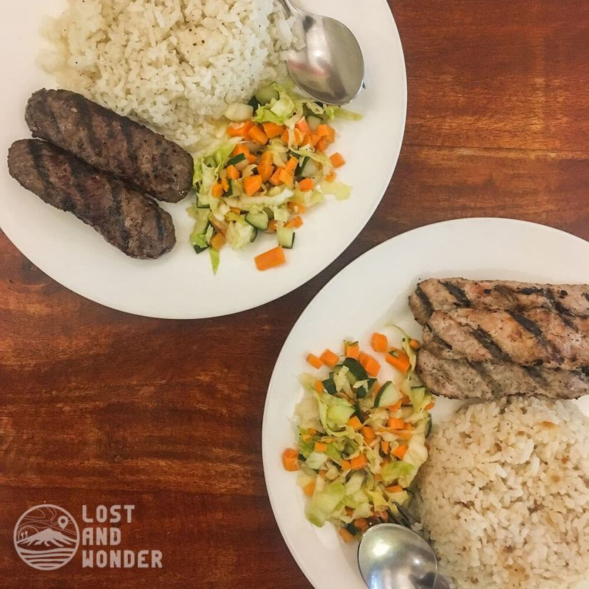 Photo of Chicken and Beef Kebab in Habibi's Grill Baguio