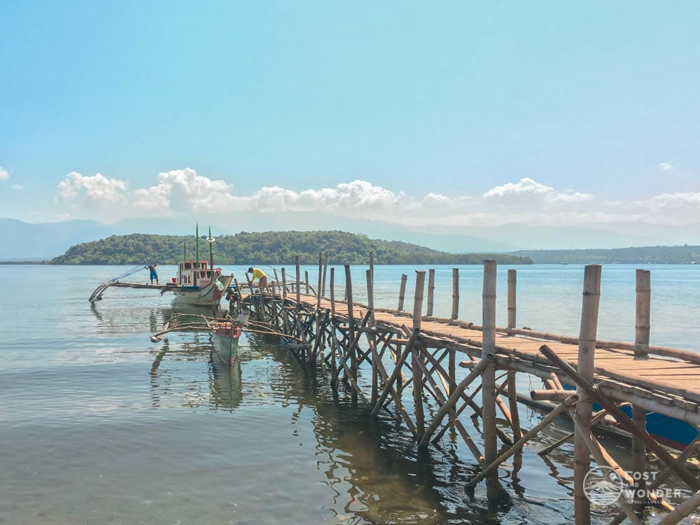 Photo of Oslet Fish Dealer Compound in Barangay Luan in Palauig, Zambales. This port will take you to Magalawa Island.