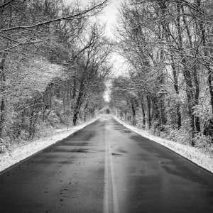 snow road to nowhere in the south