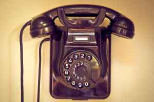 rotary dial old phone