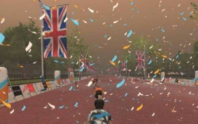 Greater London Flat – Zwift Route Through Streets of London