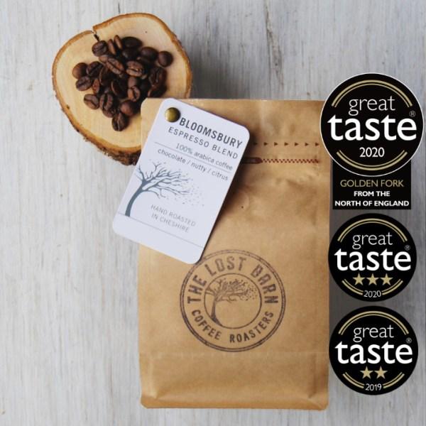Bloomsbury Espresso Blend Golden Fork 2020