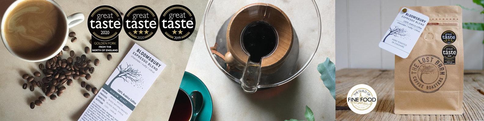Award Winning Coffees