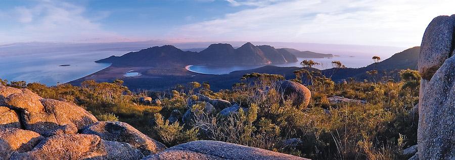 ( A photo of Tasmania from DiscoverTasmania.com.au )