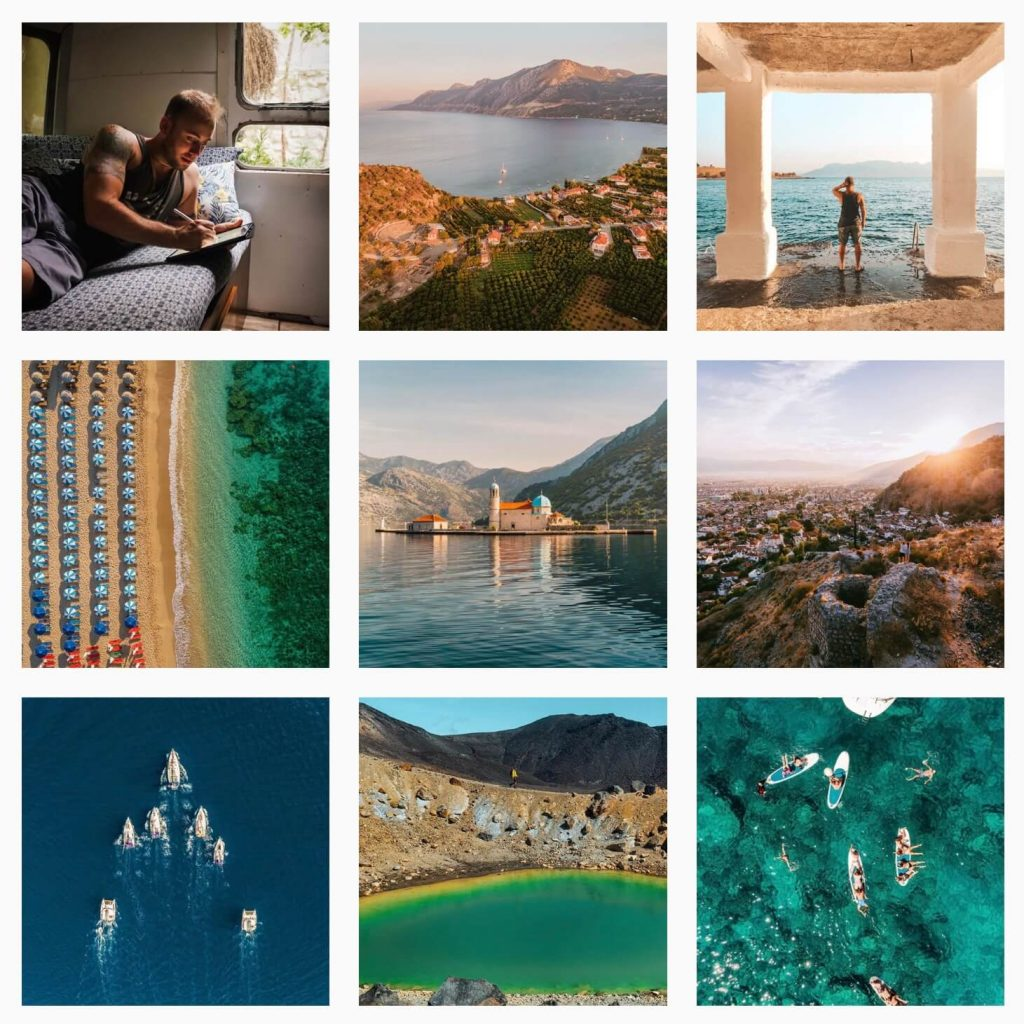 Work with travel blogger Lost Boy Memoirs Instagram graphic