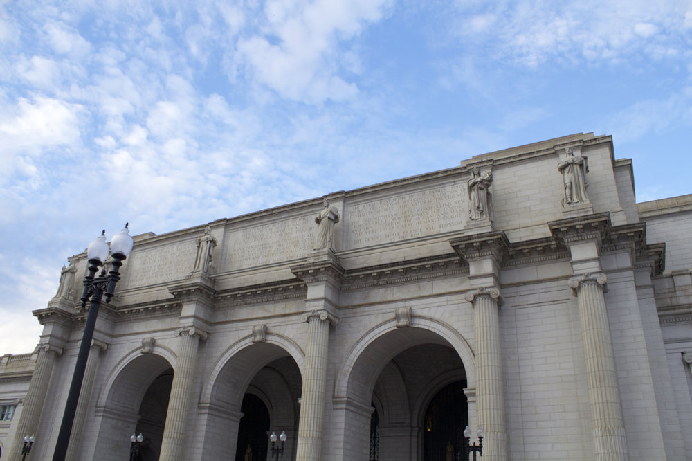 Entrance Archways Of Union Station.