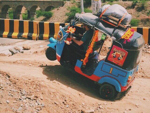 Rickshaw Run April 2015 Wheelie India