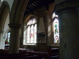 Victorian stained-glass windows