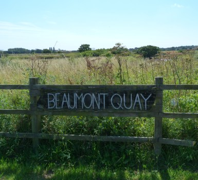 Beaumont Quay Sign