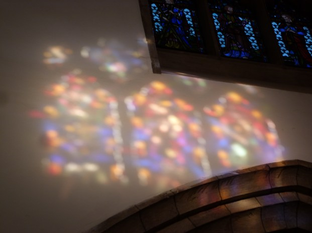 12 - Image of stained glass window