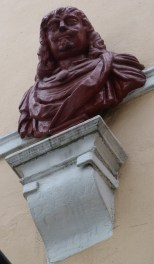 A bust of Essex (with inscription) - Copy