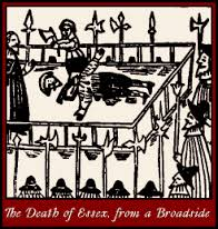 The death of Essex from a broadside - Copy