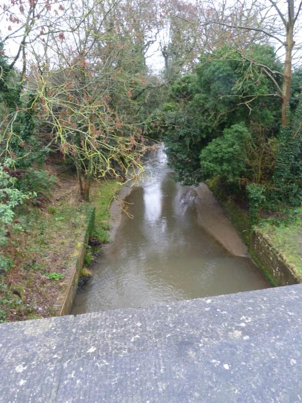 11 - Section of New River near former Garnault estate