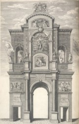 1 - the first arch on Leadenhall (theme of Rebellion and Monarchy)