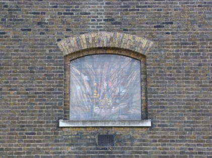 6 - Twentieth-century stained-glass window depicting Turner