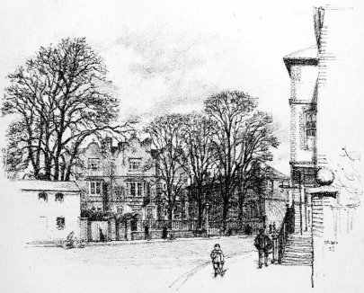Eagle House as sketched in 1899
