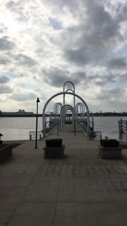 Dock on Mississippi River in Downtown Baton Rouge