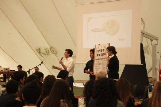 12 Aprile 2011, '1a Giornata della Sicurezza Stradale'  (Liceo Brotzu, Quartu S. E.)