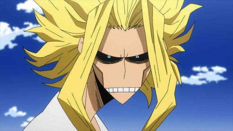 My Hero Academia anime review all might