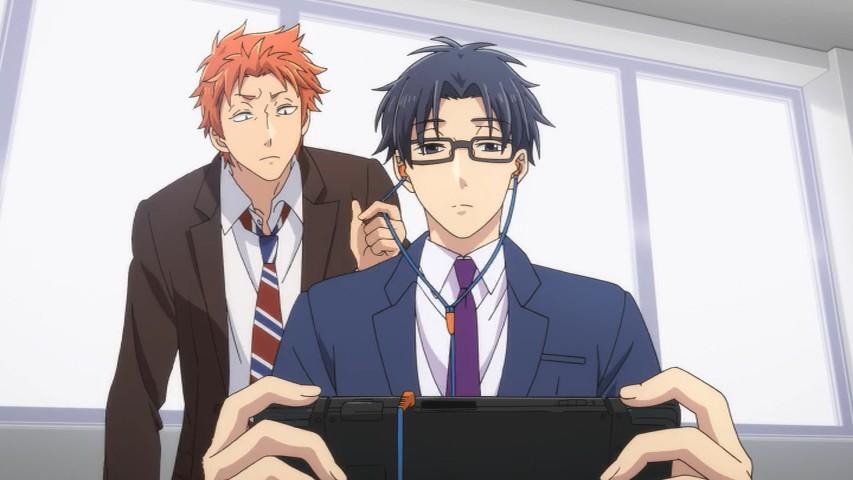 Image result for hirotaka nifuji screencap games at lunch