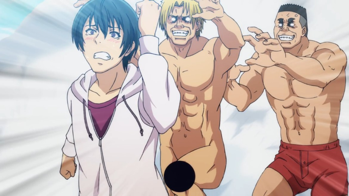 anime, preview, grand blue