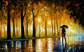 Leonid Afremov - Betwitched Park