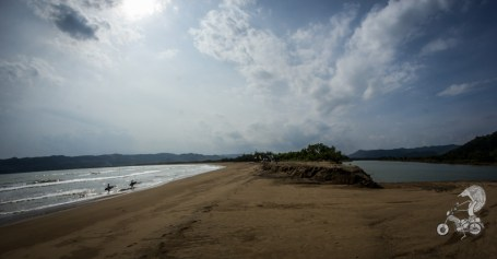 River mouth, Pacitan.
