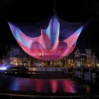 Beautiful Flying Net Sculptures