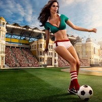 The Sexy Women of the World Cup. Kinda.