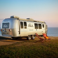 The Perfect Trailer for a Glamping Trip