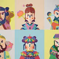 Chinese Gods Contemporized by Beijing Illustrator