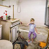 Photographer Recreates His Childhood Home Growing Up with A Hoarder