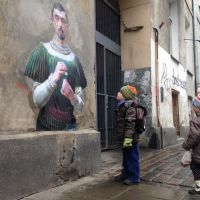 Classical Paintings Bring a New Spin on Street Art
