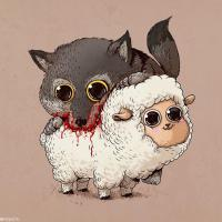 Adorable (and Disturbing) Reinterpretations of Predators and Their Preys