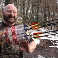 Full Auto Coke Bottle Arrow Gatling Gun