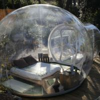 Transparent Tent Lets You Watch Nature in the Comfort of Your Own Bubble