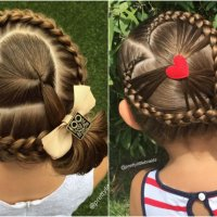 Girl Goes to School With Amazing Braids Done by Mom Every Morning