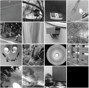 Figure 4: Our final 15 images to tell the story