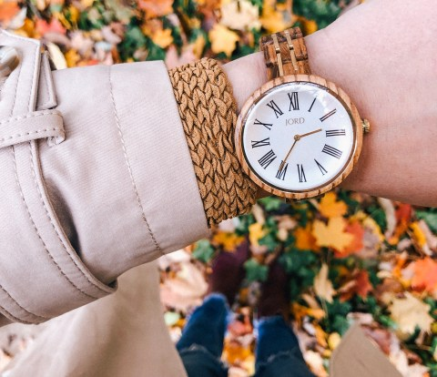 Cassia Vintage Wood Watch - JORD wood watches
