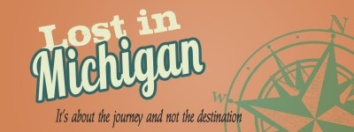 Lost in Michigan Logo - Michigan Themed Blogs