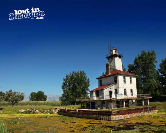 Saginaw Rear Range Lighthouse