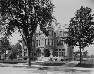 The Whitney House in 1905 from the Library of Congress archives
