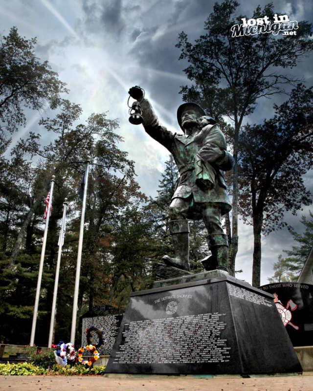 firemans memorial Michigan