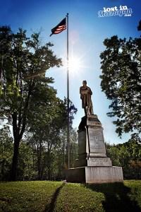 Civil War Statue Saginaw Michigan