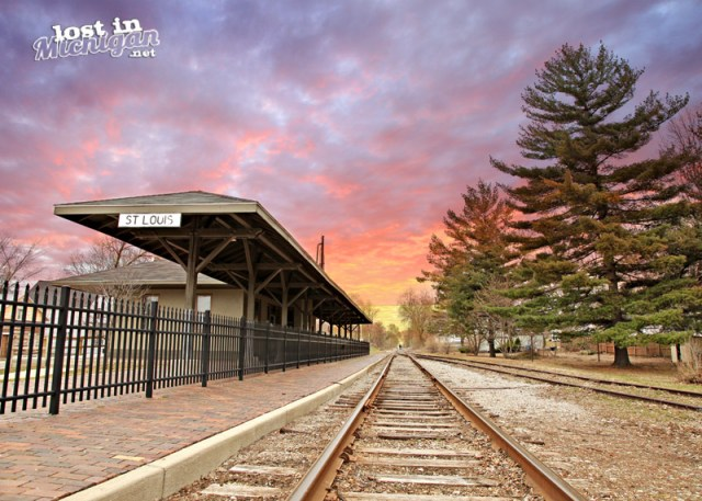 st louis Michgian train station