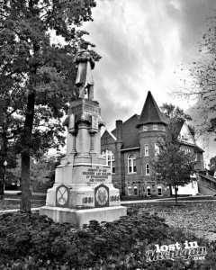civil war statue stockbridge michgan