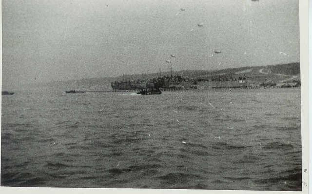 D-Day Normandy beach landing