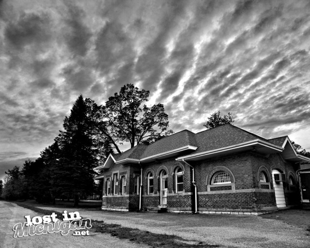 columbiaville train station depot