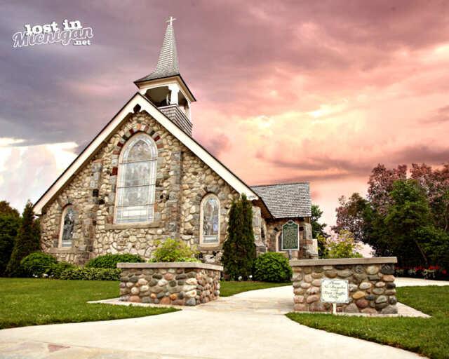 little stone church mackinac island
