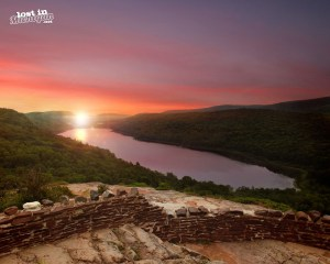 lake of the clouds porcupine mountains michigan